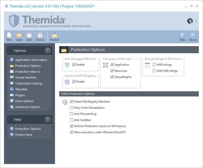Themida screenshot