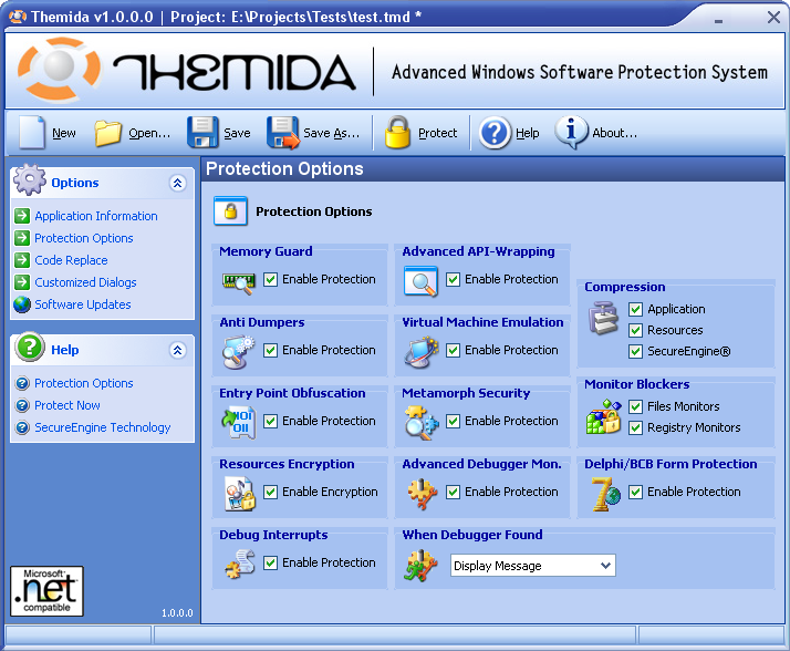 Powerful Windows Software Protector